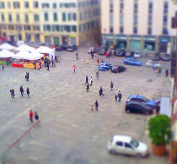 Tilt Shift Genova